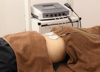 即効性の鎮痛・早期回復には「ハイボルテージ施術」をおすすめします!